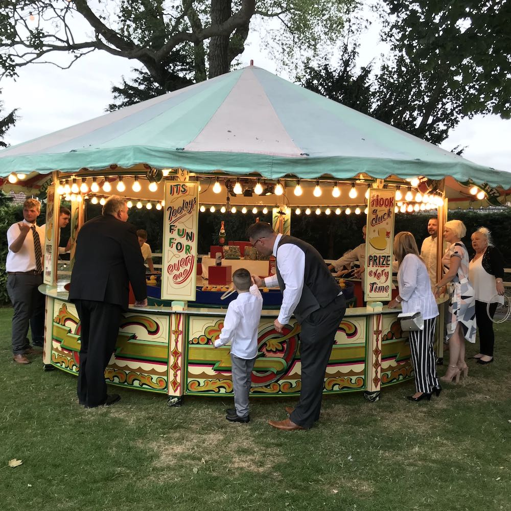 Round Stall Wedding Hire Hoopla Game